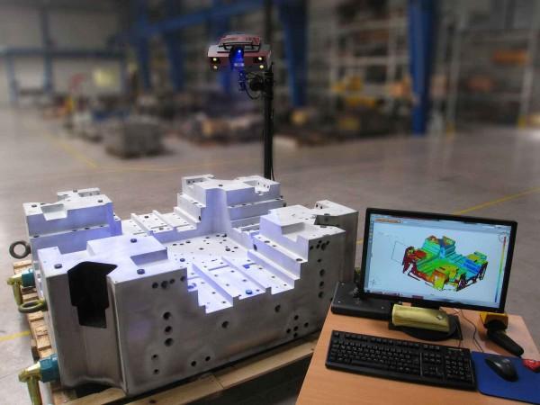 ATOS - Hochauflösender optischer 3D-Scanner Triple Scan
