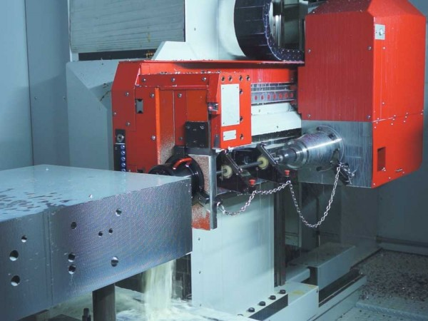 CNC Tiefbohr- Fräszentrum SAMAG TFZ 2-1000