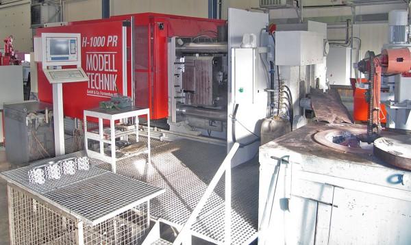Frech DAK 1250 die casting machine